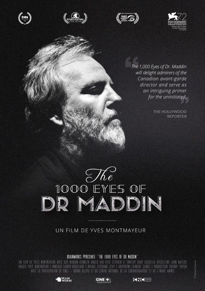 The 1,000 Eyes of Dr.Maddin Poster