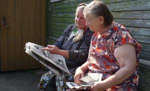 2 lezeressen Nasha Gazeta