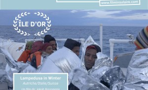 """Lampedusa in Winter received the main price of the jury, the """"ILE D'OR"""" at """"Festival International du Film Insulaire"""""""