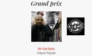Mr Gay Syria wins Grand Prix at 2017 Paris Gay and Lesbian Film Festival